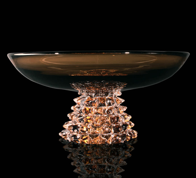 ROSTREI Murano Glass Bowl