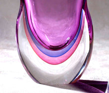 Load image into Gallery viewer, SBRUFFI Murano Glass Vase