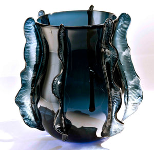 WAVE Murano Glass Vase