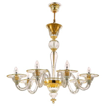 Load image into Gallery viewer, BAROVIER Murano Glass Chandelier