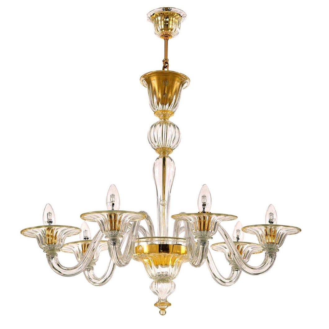 BAROVIER Murano Glass Chandelier