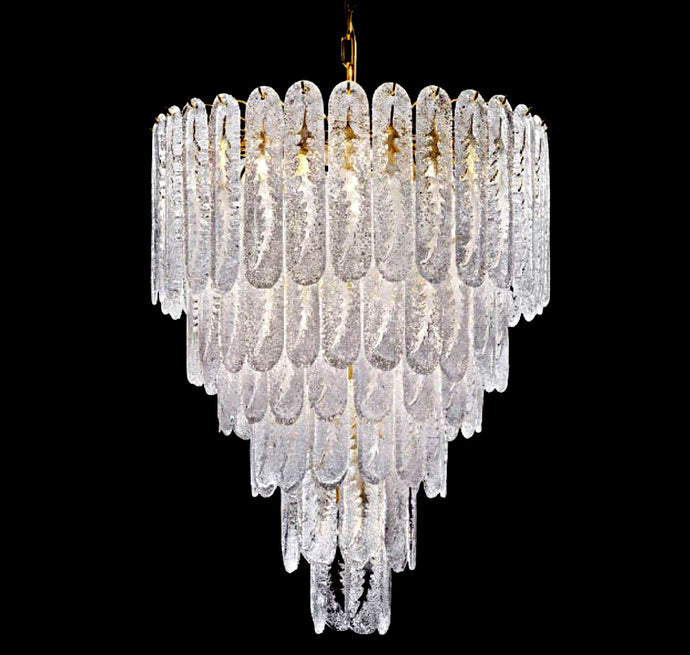 FERNS Murano Glass Chandelier
