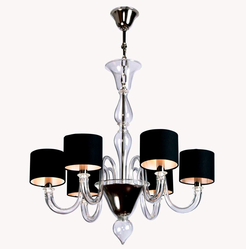FLOW Murano Glass Chandelier