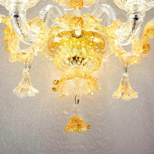 Load image into Gallery viewer, ORO Murano Glass Wall Sconce