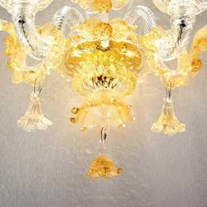 ORO Murano Glass Wall Sconce