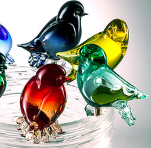 Load image into Gallery viewer, BIRDS NEST Murano Glass Sculpture