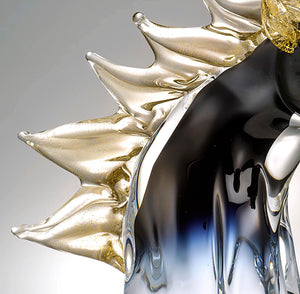 CAVALLO Horse Head Murano Glass Sculpture
