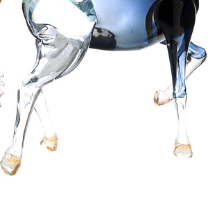 EQUINE Horse Murano Glass Sculpture