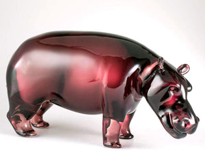 HIPPO Murano Glass Sculpture