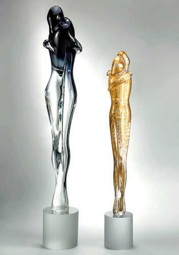 LOVERS Murano Glass Sculpture