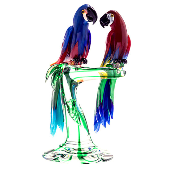MACAWS Murano Glass Sculpture