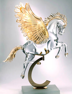 PEGASUS Murano Glass Sculpture