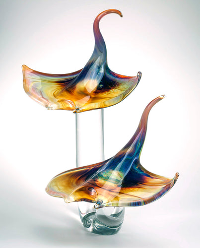 RAY Murano Glass Sculpture