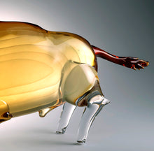 Load image into Gallery viewer, TORO Murano Glass Sculpture