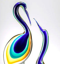 Load image into Gallery viewer, STORKS Murano Glass Sculpture