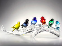 Load image into Gallery viewer, PERCHED Murano Glass Sculpture