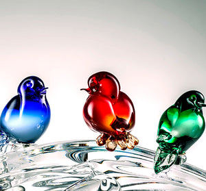 PERCHED Murano Glass Sculpture