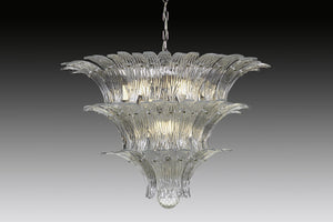 PALMETTE Murano Glass Chandelier