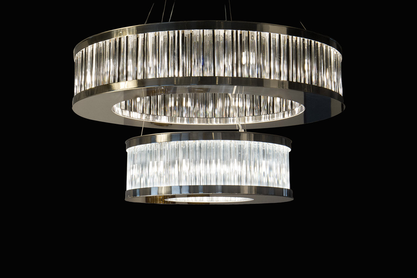 SATURN Murano Glass Chandelier