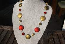 Load image into Gallery viewer, Palermo Multi Coloured Necklace