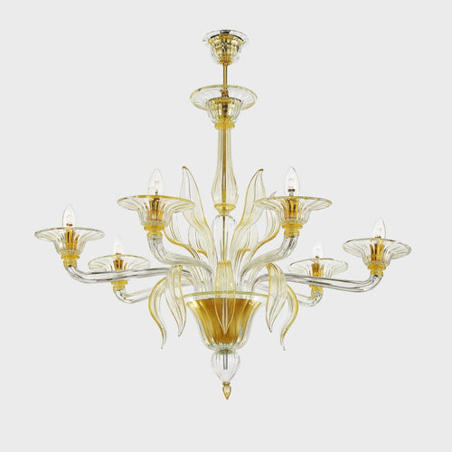 ORO Murano Glass Chandelier