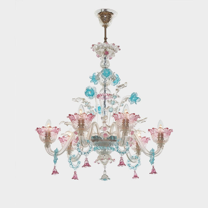 ARIA Venetian Glass Chandelier