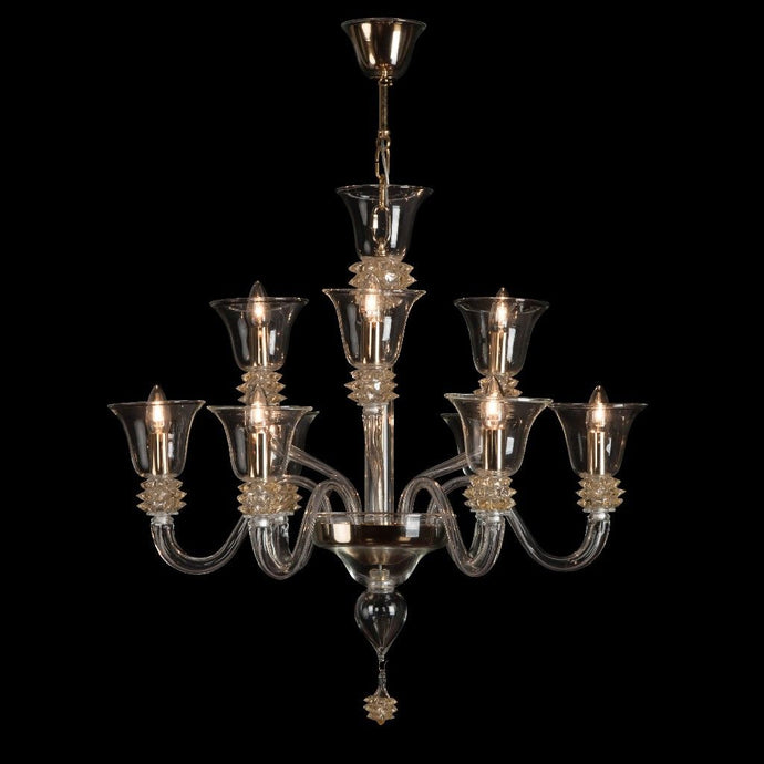 PULGIA Murano Glass Chandelier