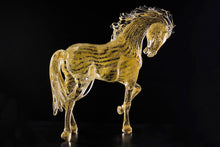 Load image into Gallery viewer, EQUESTRE Murano Glass Equestrian Horse