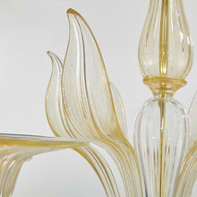 Load image into Gallery viewer, ORO Murano Glass Chandelier