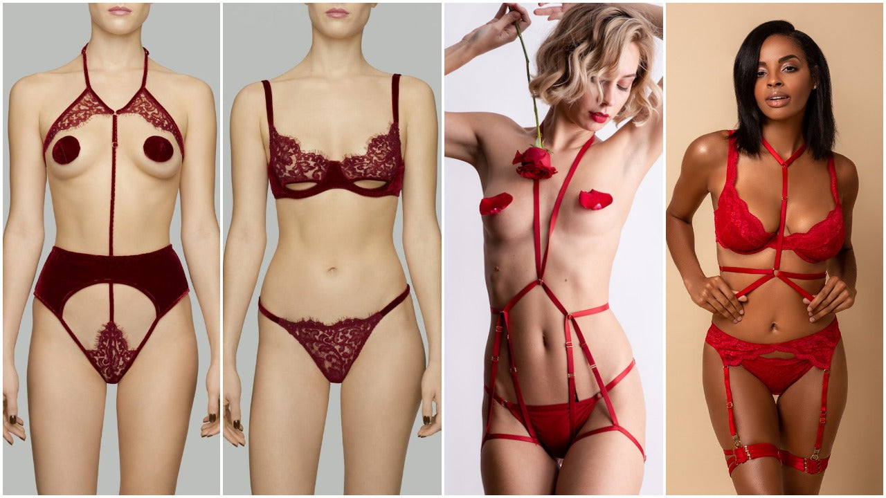 Lingerie for Aries | Zodiac Sign Lingerie