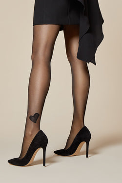 Amare Patterned Stockings | Fiore | Anya Lust