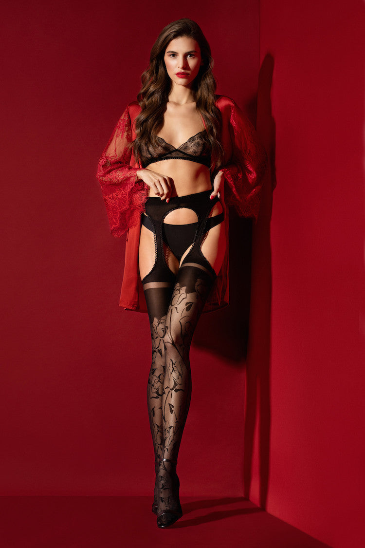Amorosa Garter Stockings