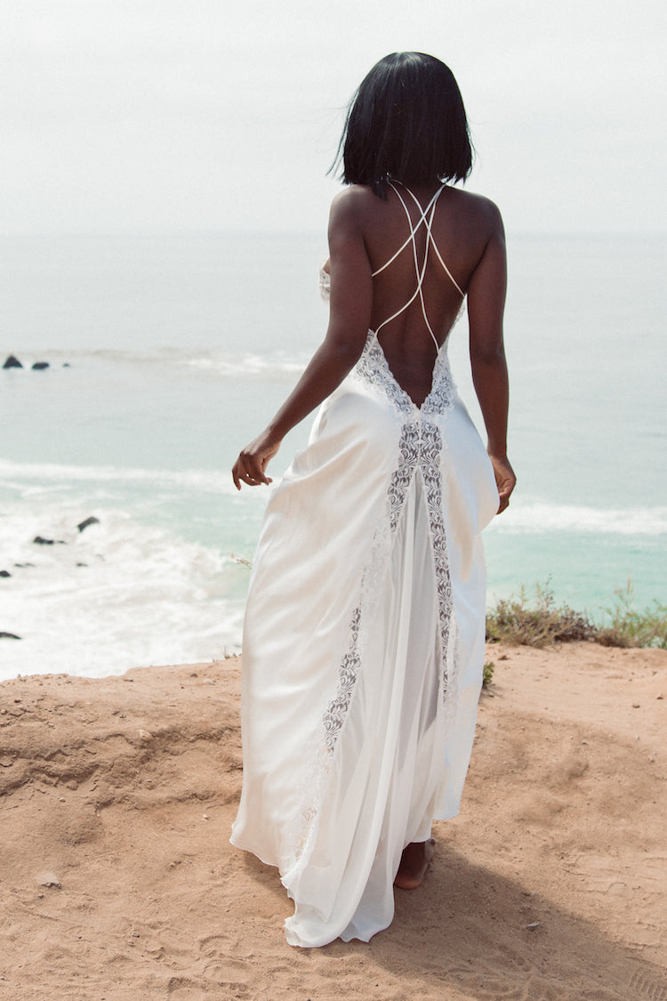 Angelica Silk Nightdress | Jane Woolrich | Anya Lust Bridal