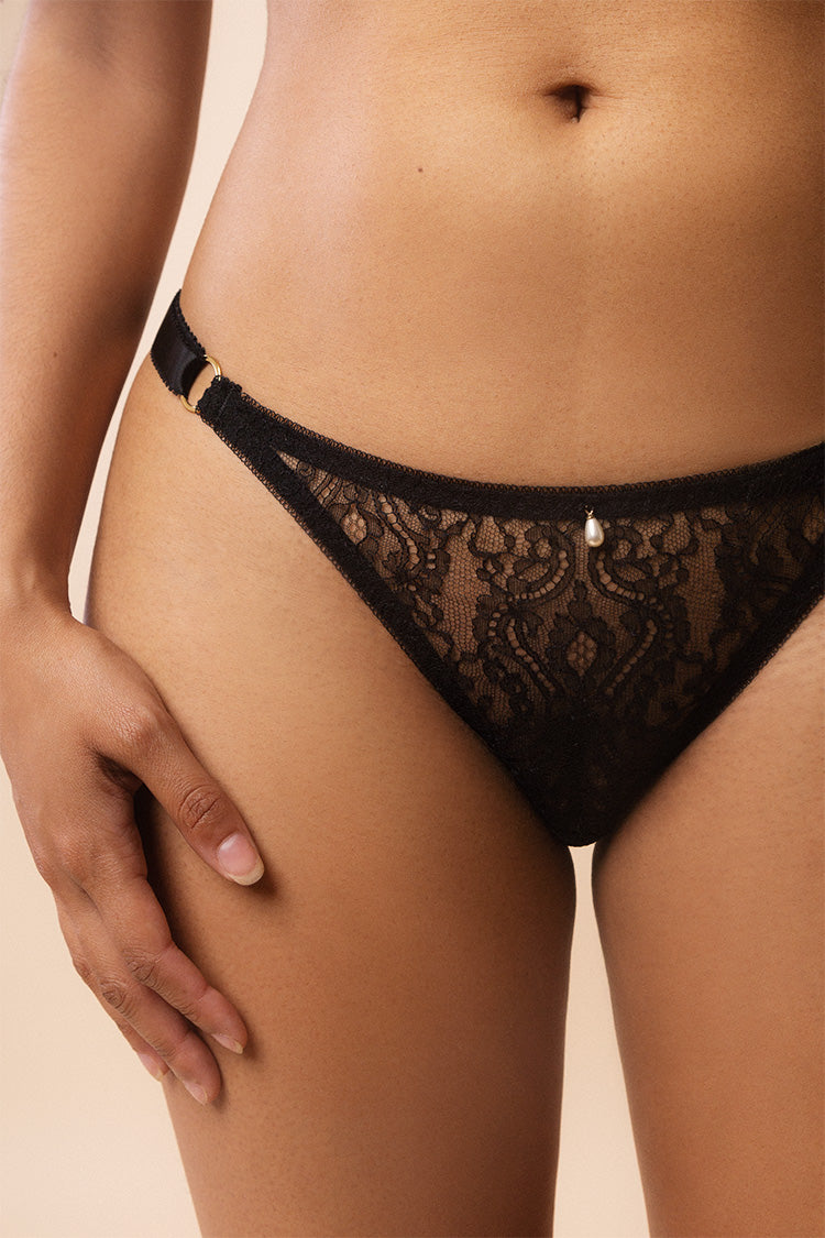 Aurora Lace Thong | Harlow & Fox | Anya Lust Boutique
