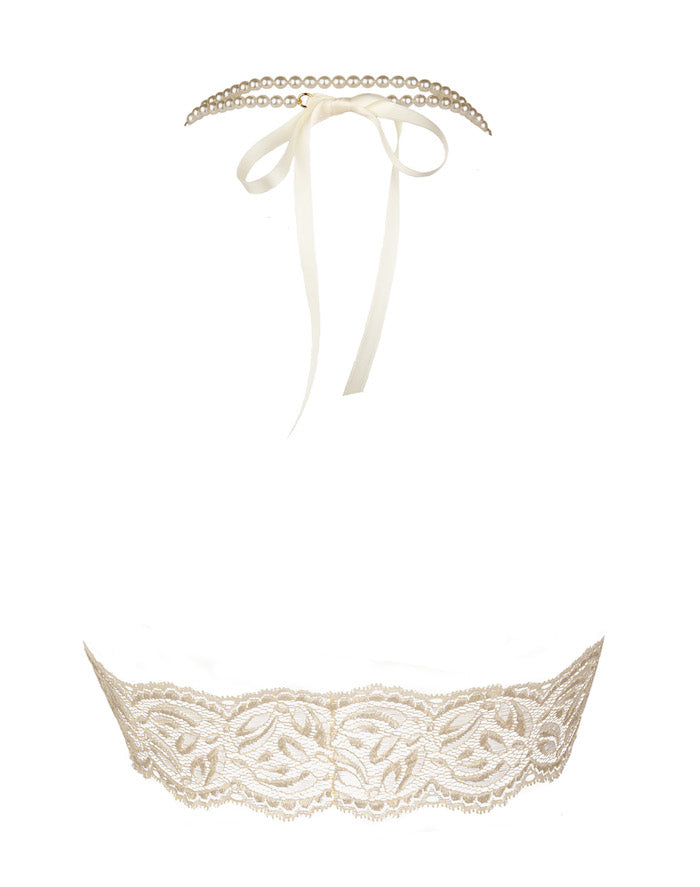 Ivory Begos Lace Bralette - Bracli - Anya Lust Lingerie
