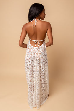 Bloom Lace Maxi Dress