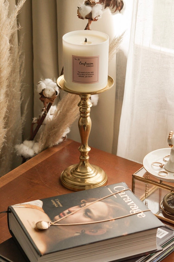 romantic candle | date night at home
