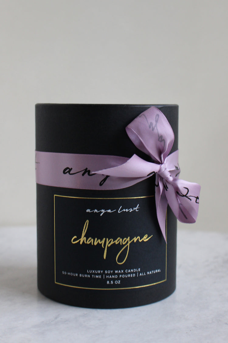 Champagne Candle - Anya Lust Luxury Candles