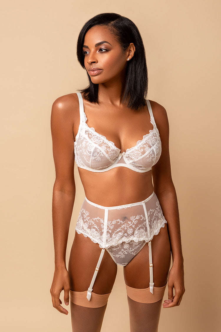 luxury bridal lingerie set