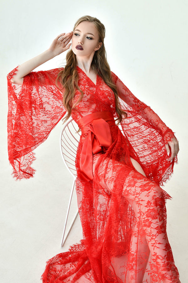 Chantelle Lace Robe