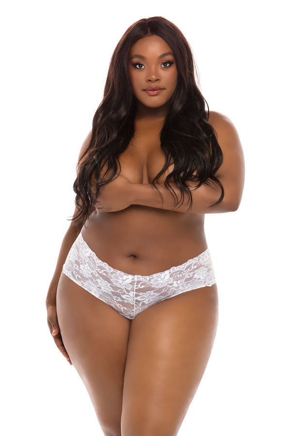 Cheri Plus Size Open Panty