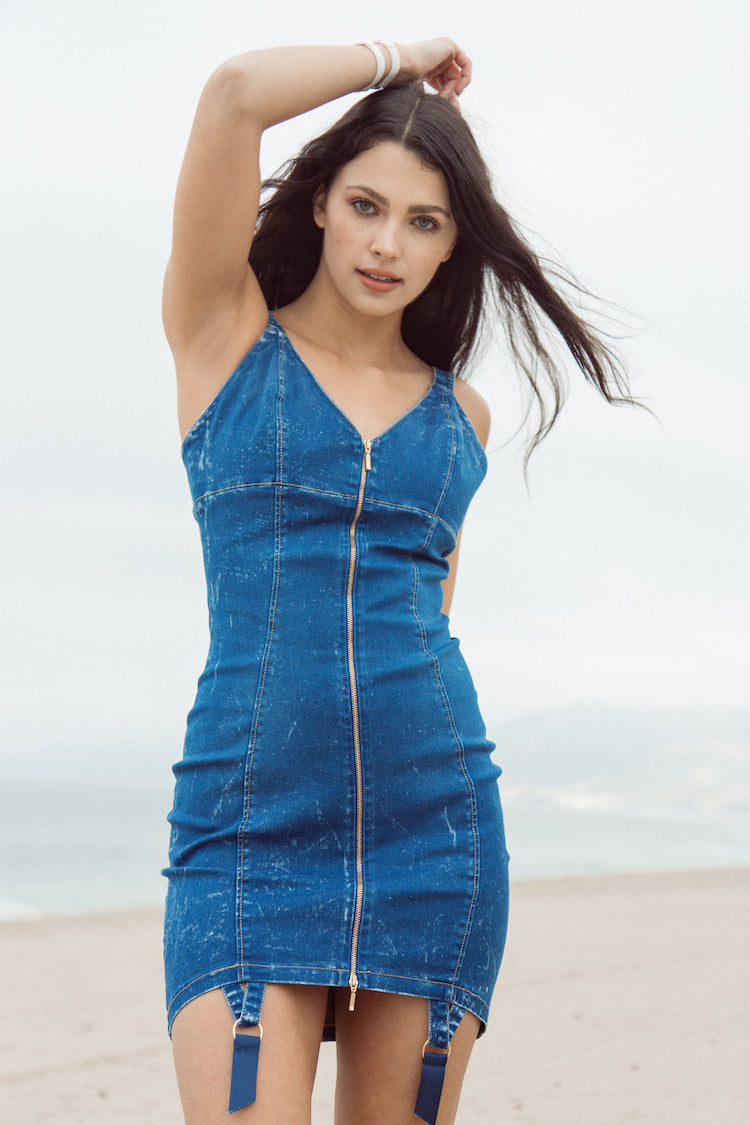Denim Candy Dress | Murmur | Anya Lust Boutique