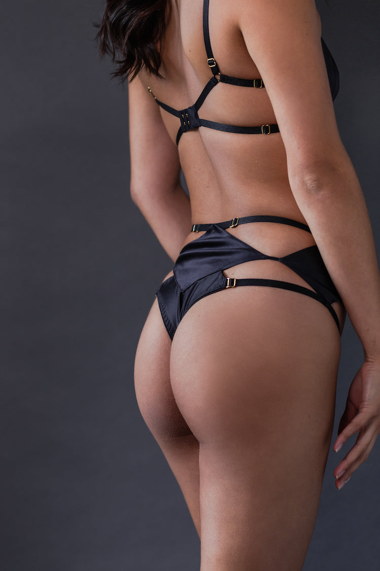 Diamond High-Waisted Panty - Ludique - Anya Lust Lingerie