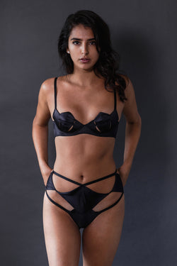 Diamond High-Waisted Panty - Ludique - Anya Lust Luxury Lingerie