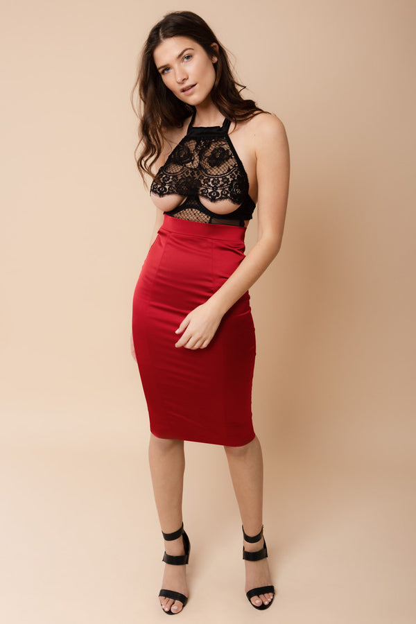 Domestic Skirt Red | Murmur | Anya Lust