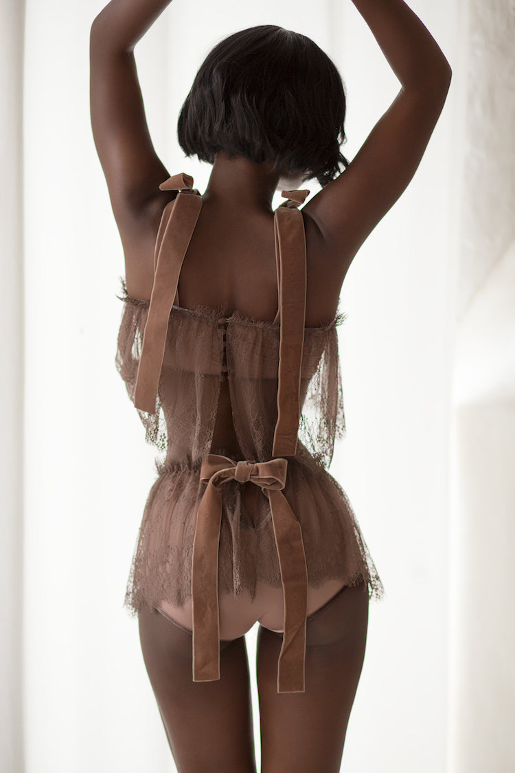 Fawn Lace Lingerie Set - Anya Lust Lingerie