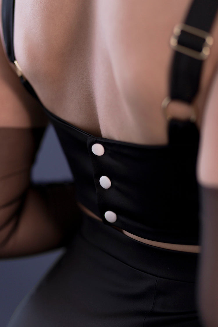 French Maid Bra Top | Murmur Roleplay | Anya Lust