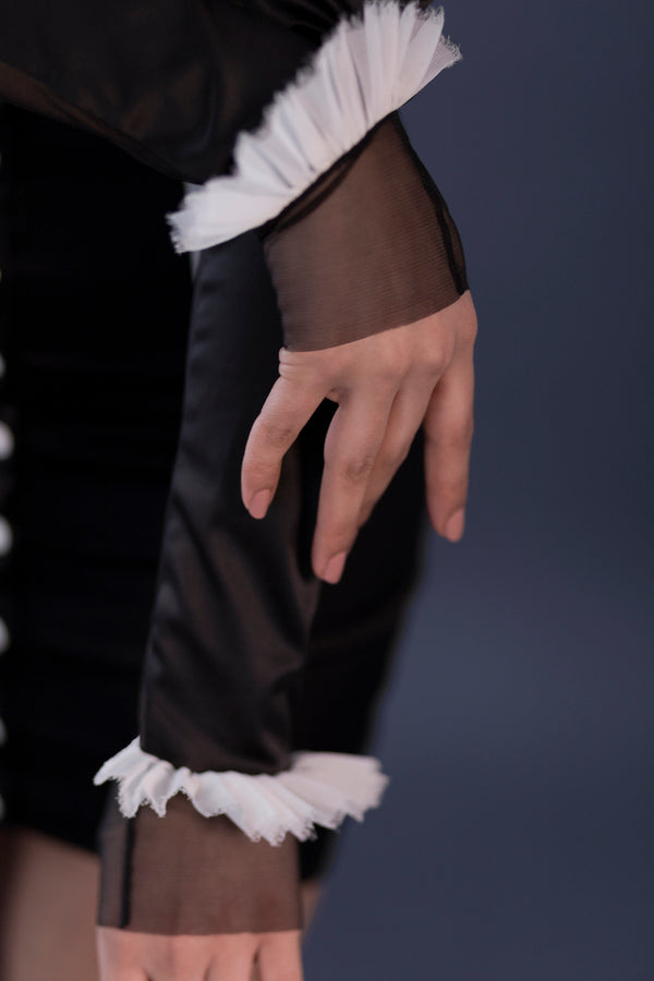 French Maid Gloves | Murmur Roleplay Collection | Anya Lust Lingerie