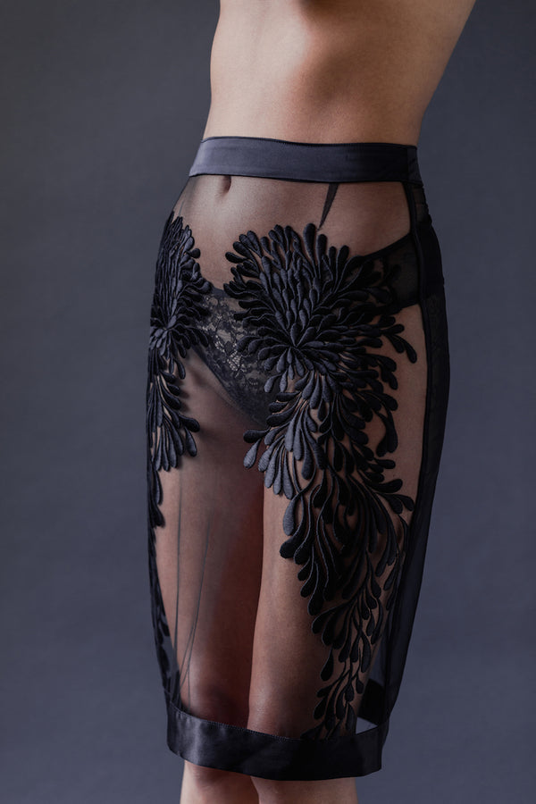 Gabriella Half Slip - Tatu Couture at Anya Lust Luxury Lingerie