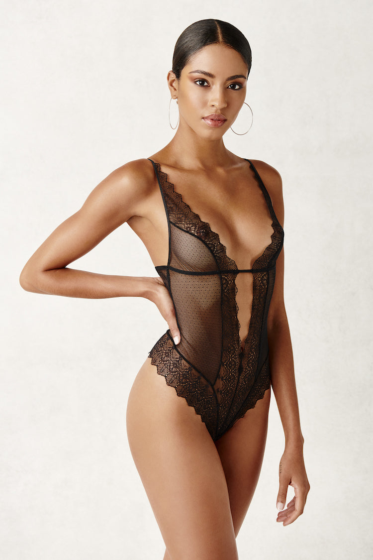 Geneva Sheer Bodysuit